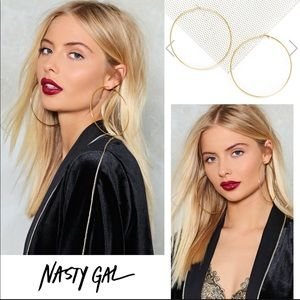Nasty Gal🖤 New Boutique Gold Hoops Coming Soon!